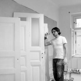 Práce na dveřích